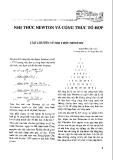 Nhị thức newton và công thức tổng hợp