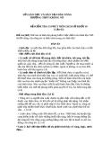 ĐỀ KIỂM TRA 15 PHÚT MÔN LỊCH SỬ KHỐI 10 (Lần 02) TRƯỜNG THPT KRÔNG NÔ