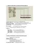 Chương trình điều khiển các led đơn nối với PORTB nhấp nháy