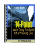 14 point web copy analysis of a winning site