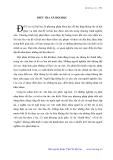 """Báo cáo """" ĐIỀU TRA XÃ HỘI HỌC """""""