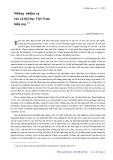 """Báo cáo """" Những nhiệm vụ của xã hội học Việt Nam hiện nay """""""