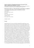"""Báo cáo """"RỦI RO THỰC THẨM, CŨ VÀ MỚI: Những đặc trưng nhân khẩu học và nhận thức về các chất phụ gia thực phẩm, quy định và sự nhiễm bẩn ở Australia """""""
