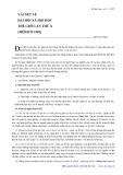"""Báo cáo """"  VÀI NÉT VỀ ĐẠI HỘI XÃ HỘI HỌC THẾ GIỚI LẦN THỨ X (MÊHICÔ 1982)"""""""