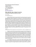 """Báo cáo """" Phát triển bền vững và Quản lý toàn cầu """""""