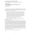 """Báo cáo """"Tiểu luận phê bình Đất đai, lao động và chuyển đổi đất nông nghiệp ở Việt Nam """""""