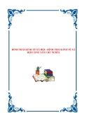 HÌNH THÁI KINH TẾ XÃ HỘI - HÌNH THÁI KINH TẾ XÃ HỘI CỘNG SẢN CHỦ NGHĨA.HÌNH THÁI KINH TẾ XÃ HỘI - HÌNH THÁI KINH TẾ XÃ HỘI CỘNG SẢN CHỦ NGHĨA