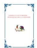 ẢNH HƯỞNG CỦA CÁC YẾU TỐ MÔI TRƯỜNG ĐẾN HOẠT ĐỘNG QUẢN TRỊ CỦA CÁC DOANH NGHIỆP