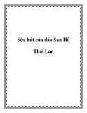Sức hút của đảo San Hô Thái Lan