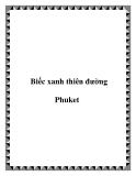 Biếc xanh thiên đường Phuket