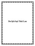 Du lịch bụi đến Thái Lan