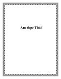 Ẩm thực Thái