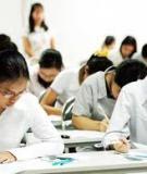 Đề thi học môn Nguyên lý kế toán
