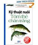 Ebook Kỹ thuật nuôi tôm he chân trắng - Thái Bá Hồ, Ngô Trọng Lư