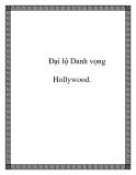 Đại lộ Danh vọng Hollywood.