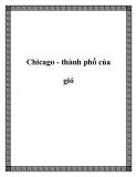 Chicago - thành phố của gió
