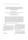 """Báo cáo """" Công thức thực nghiệm tính toán cường độ mưa từ độ phản hồi radar cho khu vực Bắc Trung Bộ và Nam Đồng Bằng Bắc Bộ """""""