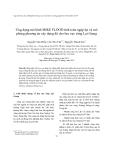 """Báo cáo """"Ứng dụng mô hình MIKE FLOOD tính toán ngập lụt và mô phỏng phương án xây dựng đê cho lưu vực sông Lại Giang"""""""