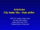 Artichoke cây dược liệu - thực phẩm  (TS. Dương Thanh Liêm)
