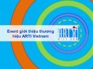Event giới thiệu thương hiệu ARTI Vietnam