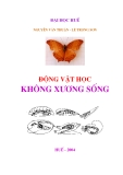 Giáo trình Động vật học không xương sống - Nguyễn Văn Thuận, Lê Trọng Sơn