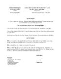Quyết định số  183/QĐ-UBND