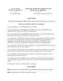 Quyết định số 694/QĐ-TCHQ
