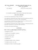 Quyết định số 373/QĐ-TTg