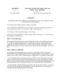 Nghị định số 21/2013/NĐ-CP