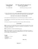 Quyết định số 182/QĐ-UBND