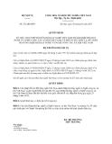 Quyết định số  272/QĐ-BNV