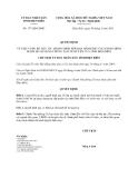Quyết định số 177/QĐ-UBND
