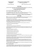 Quyết định số 20/2013/QĐ-UBND