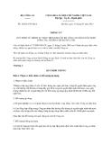 Thông tư số 16/2013/TT-BCA