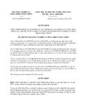 Quyết định số 431/QĐ-BNN-TCCB