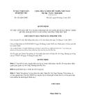 Quyết định số  426/QĐ-UBND