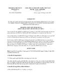 Nghị quyết số 43/2013/NQ-HĐND