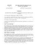 Nghị định số 22/2013/NĐ-CP