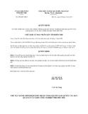 Quyết định số 384/QĐ-UBND