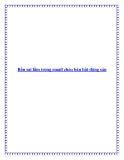Bốn sai lầm trong email chào bán bất động sản