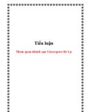 Tiểu luận: Tham quan khách sạn Vietsovpetro Đà Lạt