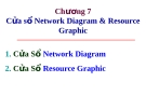 Cửa sổ Network Diagram & Resource Graphic
