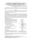 ẢNH HƯỞNG CỦA ROHEXADIONE CALCIUM LÊN HÀM LƯỢNG GIBBERELLIN NỘI SINH TRONG CÂY VÀ CHIÊU DÀI TÊ BÀO LÓNG THÂN CÂY LÚA