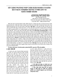 Đề tài : XÂY DỰNG PHƯƠNG PHÁP CHẨN ĐOÁN NHANH VI KHUẨN DỊCH HẠCH (YERSINIA PESTIS) TỪ MẪU ĐẤT VÀ NƯỚC NHIỄM KHUẨN