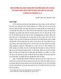 ẢNH HƯỞNG CỦA ABA TRONG MÔI TRƯỜNG NUÔI CẤY LÊN SỰ TÁI SINH CHỒI TRỰC TIẾP TỪ NUÔI CẤY MẪU LÁ CÂY CHÈ