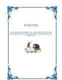 LUẬN VĂN : SÀN GIAO DỊCH BẤT ĐỘNG SẢN – MỘT TRONG NHỮNG NỘI DUNG QUẢN LÝ CỦA NHÀ NƯỚC ĐỐI VỚI THỊ TRƯỜNG BẤT ĐỘNG SẢN