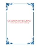 QUAN HỆ BIỆN CHỨNG GIỮA PHÁT TRIỂN CỦA LỰC LƯỢNG SÃN XUẤT VÀ SỰ ĐA DẠNG HÓA CÁC LOẠI HÌNH SỞ HỮU Ở VIỆT NAM.