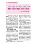 """Báo cáo """" Cần khẳng định hơn nữa thương hiệu của Thư viện Quốc gia Việt Nam """""""