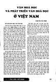"""Báo cáo """" Văn hoá đọc và phát triển văn hoá đọc ở Việt Nam """""""