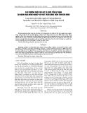 """Báo cáo """" Các phương thức cho vay và thực tiễn áp dụng tại Ngân hàng Nông nghiệp và Phát triển nông thôn tỉnh Dăk Nông """""""